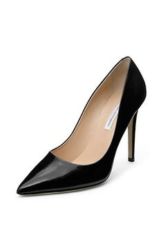Manolo Blahnik Classic Patent Leather Pumps 6pzAv