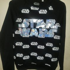 13c8514bac6 Star Wars sweater Has a cool Holo logo Still has tags Has never even been  tried. Depop
