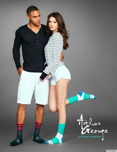 Arthur George socks by Robert Kardashian