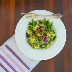 Kale Brussels Sprout Broccoli Salad, a recipe on Food52