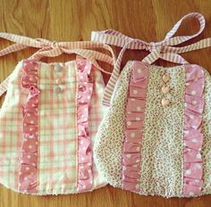 Baby girl bibs [thinking of a sweet little baby girl Avery daughter to Shana]