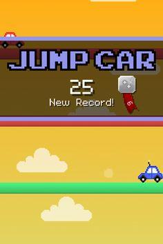 OMG! I scored 25 points in Jump Car! #jumpcar