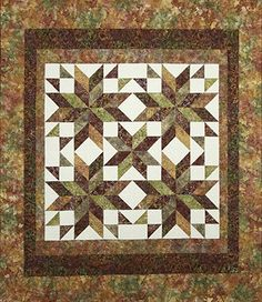 Tuscan Stars quilt pattern