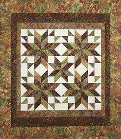 Tuscan Stars quilt pattern
