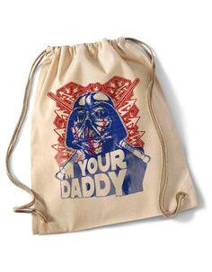 """""""Who's your Daddy?""""  Cotton Gymsack/Turnbeutel von MAD IN BERLIN auf DaWanda.com"""