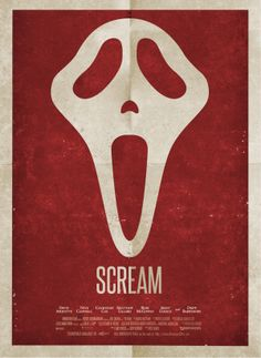Scream  This movie still terrifies me.  THE TRUE STORY by Andy Greaves, via Behance