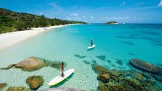 Lizard Island, a luxury hotel in Australia.