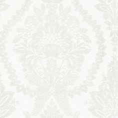 Find Ronald Redding Wallpaper Product# Collection Ronald Redding Handcrafted Naturals pattern name Heritage Damask color White/Beige. Cork Wallpaper, Metallic Wallpaper, Damask Wallpaper, Wallpaper Roll, Traditional Wallpaper, White Beige, Patterns In Nature, Accent Colors, Tapestry