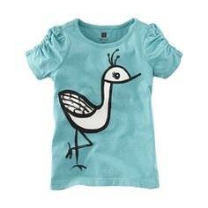 such a cute birdie  Available at teacollection.com. #teacollection