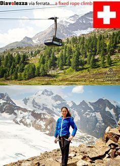 Summer fun in St. Moritz, Switzerland! Diavolezza Climb to Piz Trovat via Ferratta | FamilyFreshCooking.com © MarlaMeridith.com