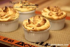 Meyer's Lemon Custard Soufflé (Nut-Free) - The Paleo Mom