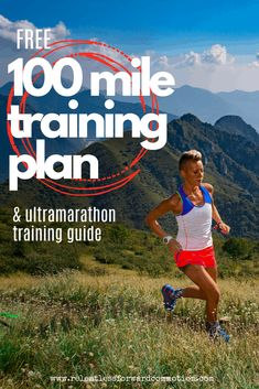 (Free) 100 Mile Ultramarathon Training Plan & Guide - RELENTLESS FORWARD COMMOTION A complete training plan and detailed training guide to help you get to the finish line of you first 100 mile ultramarathon. 50 Mile Training Plan, Ultra Marathon Training, Running Training Plan, Running Humor, Running Motivation, Running Workouts, Running Tips, Fun Workouts, Trail Running