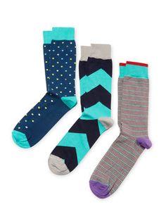 $15 Print Socks (3 PK) from Socks