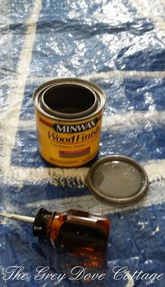 Minwax Classic Gray stain and sealer