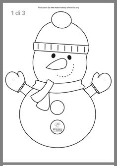 Activities For Kids, Crafts For Kids, Coloring Pages, Snowman, Hello Kitty, Christmas Crafts, Kindergarten, Projects To Try, Snoopy