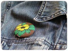 Buttons XL -Studio Zeepsop Uit vintage stof.