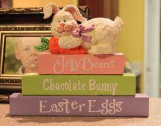Easter block trio