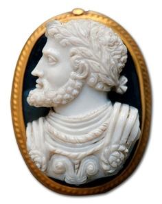 Charles V, Holy Roman Emperor. Agate-chalcedon cameo, Italian artwork, middle 16th century️ ️PM
