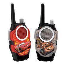 "Disney Pixar Cars 2 - 2 Walkie Talkies - McQueen and Mater - eKids - Toys ""R"" Us"