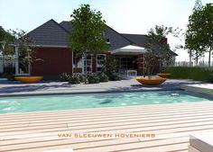 3D tuinontwerp door Van Sleeuwen Hoveniers Veghel, made by André van Sleeuwen & Bart de Jong