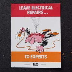 Leave Electrical Repairs - Poster