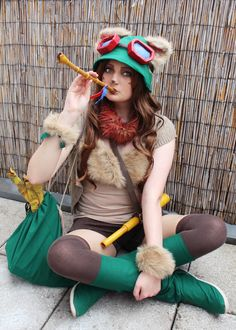Teemo Cosplay League Of Legends by PiGee https://www.facebook.com/PiGee.Cosplay.and.Games