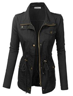 Anorak Jacket, Sweater Jacket, Hooded Jacket, Military Jacket Women, Military Jackets, Mode Rock, Safari Jacket, Jackets For Women, Clothes For Women