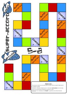 Website with various games in French. Instructions and printable so provided for free!