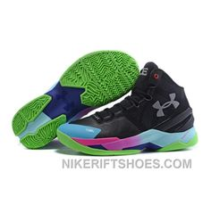 adc3763c05ee Under Armour Stephen Curry 2 Shoes Black White Red Blue Cheap To Buy GYnpK