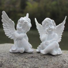 Other Home Decor Home Decor Vintage Angel Cherub Figurine Figure White Sleeping Baby Angel Statue & Garden Angel Decor, Angel Art, Angel Sculpture, Sculpture Art, Cherub Baby, Cherub Tattoo, Elephant Home Decor, Angel Drawing, Baby Fairy
