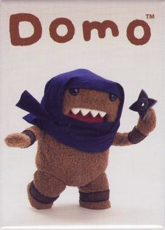 - Officially Licensed - Approximately 3.5 inches tall x 2.5 inches wide - Great for Domo fans! - Made in China