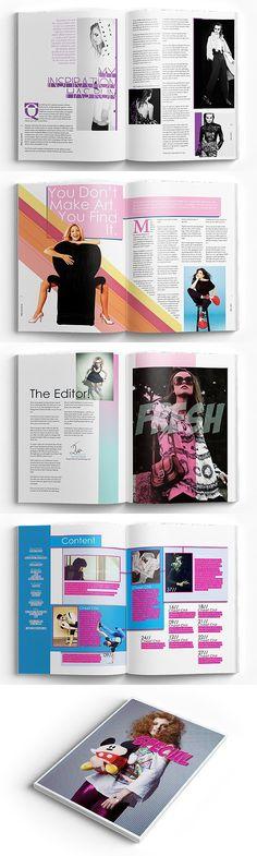 InDesign LifeStyle Magazine