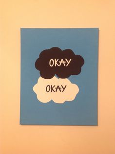 The Fault in Our Stars Canvas Ideas