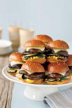 Mini Portobello Burgerscountryliving