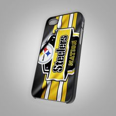 NEW Pittsburgh Steelers Logo Print On Hard Case For iPhone 4/4s 5/5s 6s 6s plus #UnbrandedGeneric