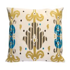 Lambent Cushion Cover, Turquoise | ACHICA