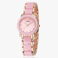 Hot Sales! Kimio Retro Student  / Woman Watch and a half Ceramic Watch Quartz Bracelet Watch the Trend of Fashion Ladies Watch-in Women's Watches from Watches on Aliexpress.com | Alibaba Group