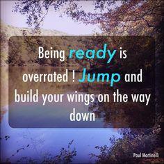 Ready..Jump! #success #dreams #pursue by simmonsnicole