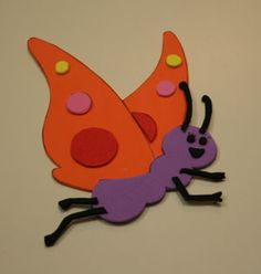 oswald madame butterfly craft for kids #LegoDuploParty