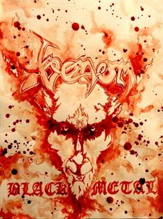 Blood Paintings By Maxime Taccardi