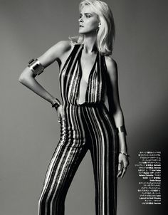 Carmen Kass for Harpers Bazaar Japan March 2015 - Page 2   The Fashionography