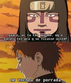 Gaara da terra que move! Naruto Uzumaki Shippuden, Itachi Uchiha, Naruto Sasuke Sakura, Naruto Shippuden Sasuke, Kakashi, Anime Meme, Otaku Meme, Anime Manga, Wallpapers Naruto