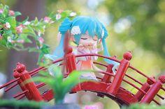 Nendoroid Hatsune Miku Harvest Moon with flute