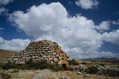 Nuraghe Izzana -Tempio Pausania  Panoramica del bel nuraghe in granito #Sardinië