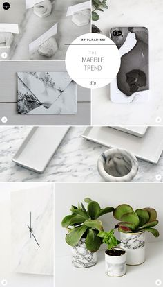 The Marble Trend   Diy