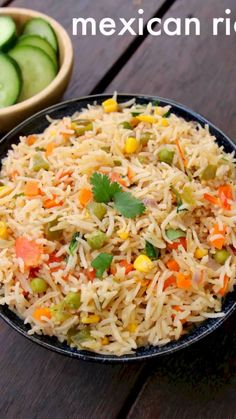 mexican rice recipe how to make restaurant style authentic mexican rice is part of Mexican rice recipes mexican rice recipe how to make restaurant style authentic mexican rice with detailed phot - Lunch Box Recipes, Veg Recipes, Spicy Recipes, Curry Recipes, Indian Food Recipes, Vegetarian Recipes, Cooking Recipes, Freezer Recipes, Freezer Cooking