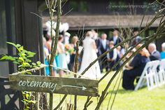 Gorgeous Day for a ceremony| Happy Days Lodge|Becky + Jeff| Ever After Imagery