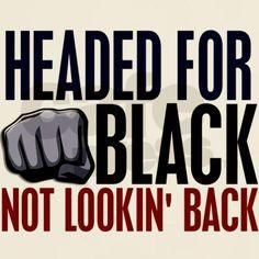 Headed For Black 2 Light T-Shirt