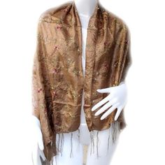 BangkokMarket Thai Floral Sweet Cute & Soft Scarf Lady Wrap Shawl, Size 18x70 Inches by BangkokMarket. $8.99. Thai floral sweet cute & soft scarf lady wrap shawl. Easy math your cloth. Really great gift for special one and nice for any season.. Save 31%!
