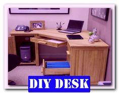 http://theofficedesigns.net/uncategorized/diy-home-office-desk-with-desktop/ - Diy Home Office Desk With Desktop